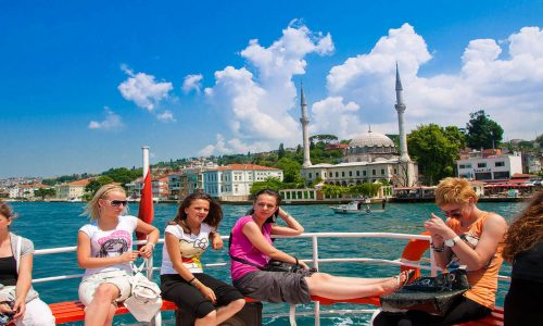 Bosphorus Cruise & Two Continents Tour