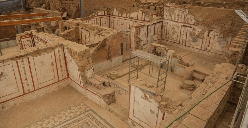 Ephesus Ruins - Terrace Houses & St John Basilica Tour