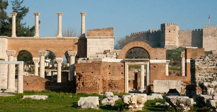 Ephesus - Terrace Houses & St John Basilica Tour